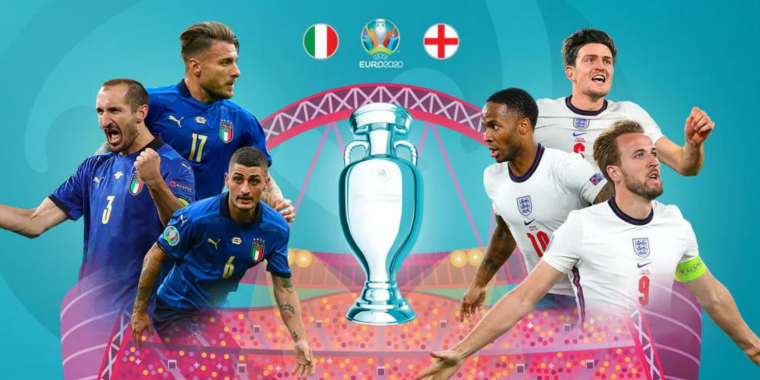 歐國盃英義爭冠。摘自官方網站