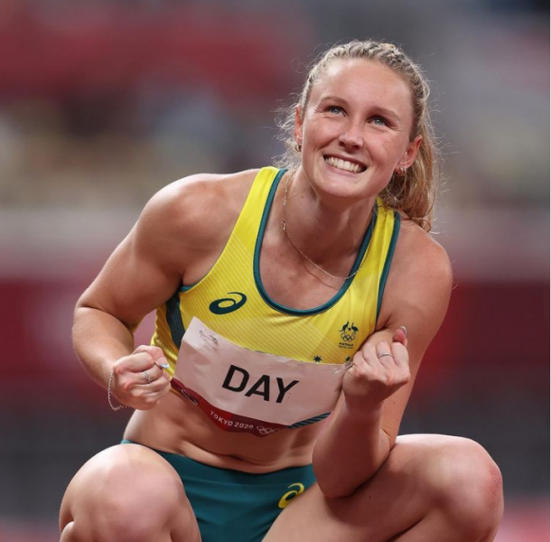 澳洲正妹田徑選手苿莉戴在今年東奧爆紅。摘自苿莉戴IG