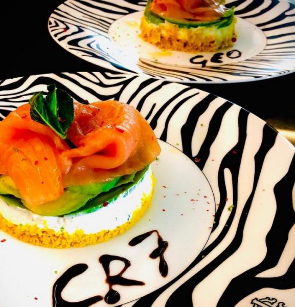 巴羅為CR7準備的餐點。摘自巴羅IG