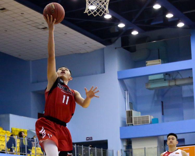 攻下28分的樹德第一得分 陳羿宇飛身上籃。大會提供
