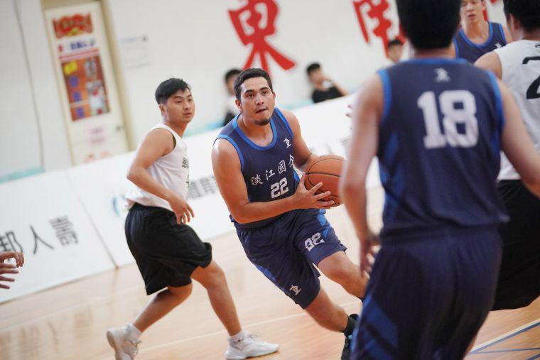 新北區冠軍淡江國企擁有兩名外籍生,被各隊視為勁敵。大會提供
