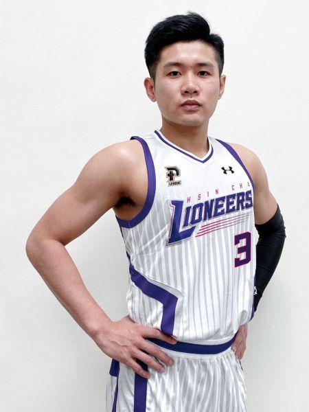 林明毅正式加盟新竹街口攻城獅 披3號戰袍征戰新賽季。官方提供