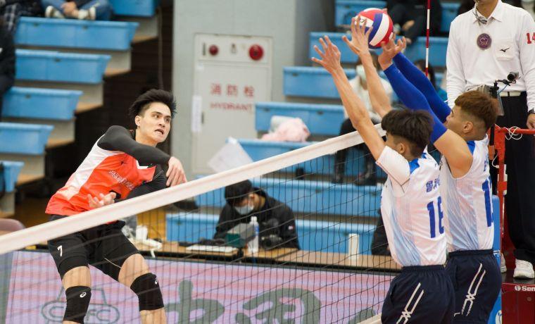 桃園臺產-劉鴻敏。中華民國排球協會提供