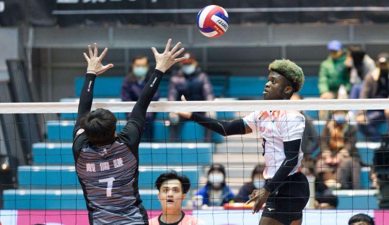 桃園臺產-李尼希米。中華民國排球協會提供