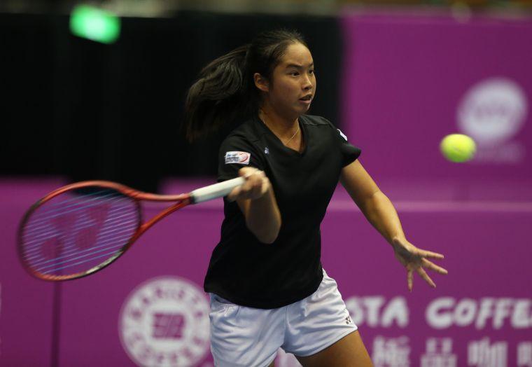 可惜楊亞依午無緣美網會內賽勝利。資料照片