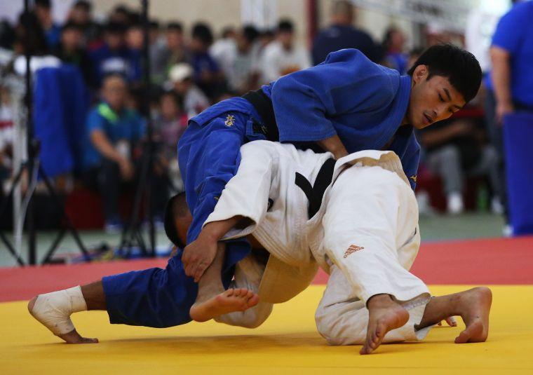楊勇緯為台灣摔出世錦賽最好的成績。李天助攝