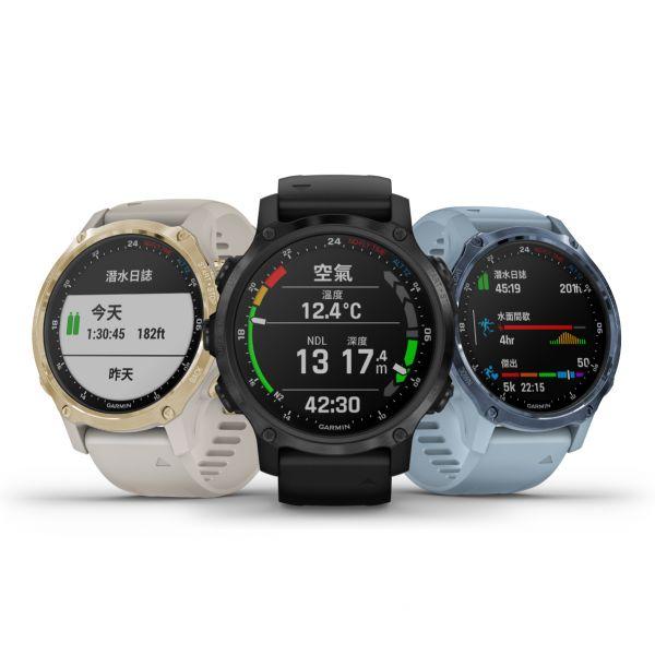 業界最輕巧「Descent Mk2S GPS潛水電腦錶」擁有6種潛水模式、30種戶外室內運動模式,支持玩家海陸雙棲全面征服。官方提供