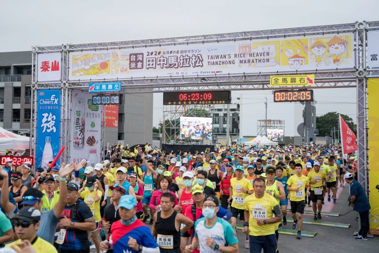 每年的田中馬參與人數為16000人,是田中鎮一年一度的盛事。資料照片