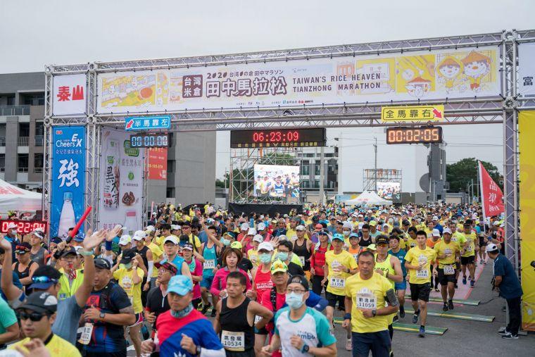 每年的田中馬參與人數為16000人,是田中鎮一年一度的盛事。官方提供