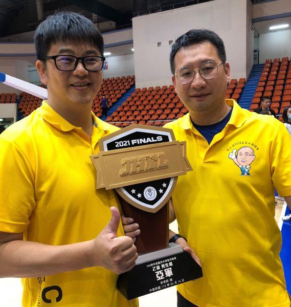 水上劉明哲(右)、徐國宏搭檔。大會提供