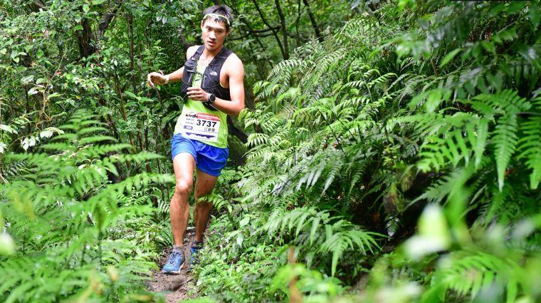 台灣越野跑好手江晏慶也以自己的視角帶領大家參與他從新開始的旅程。官方提供