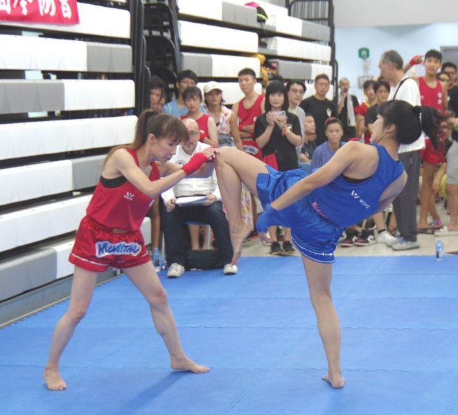 泰健操開拓了林芯宇和李名的泰拳舞台。大會提供