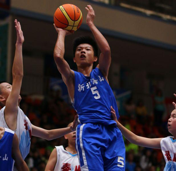 海山無冕MVP蔡昇峰轟進18分。大會提供