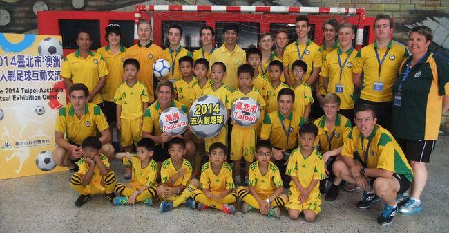 清江國小的5人制足球在台灣戰績輝煌。資料照片