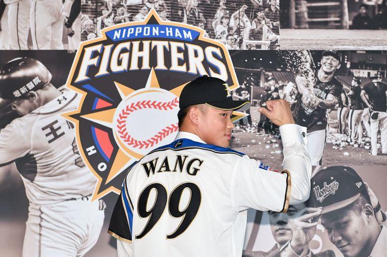 王柏融加盟北海道日本火腿鬥士隊。