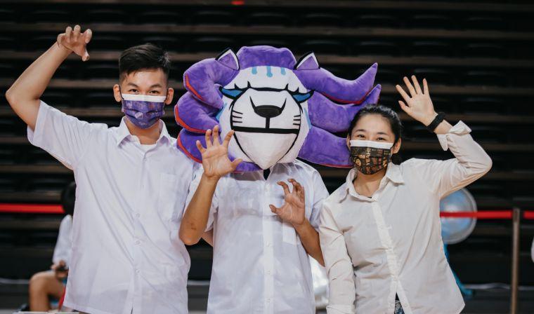 球團於主場舉辦「週年隊慶球迷會」,開放40位幸運球迷入場同慶。官方提供