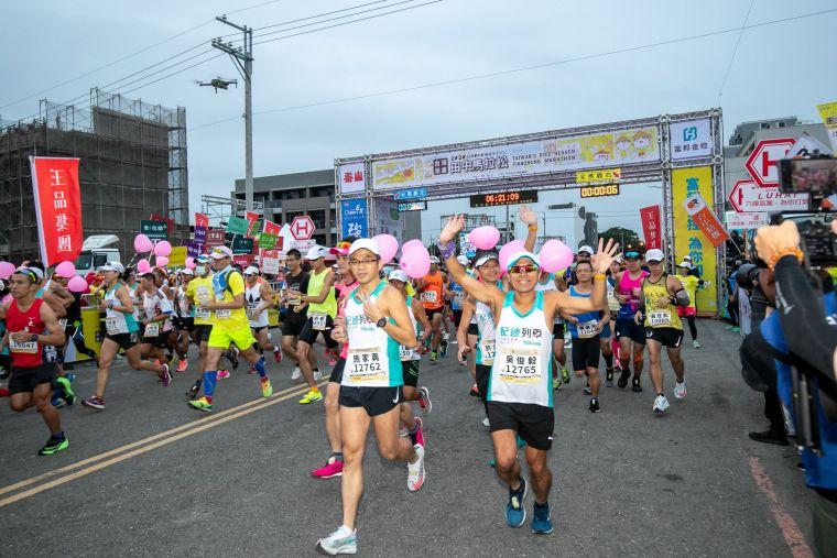 田中馬被稱為全台灣最有人情味的馬拉松。官方提供
