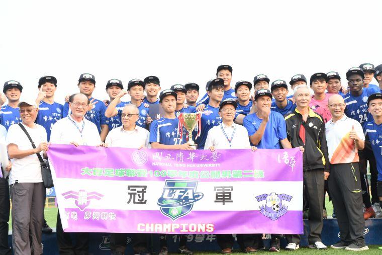 男生組二級冠軍清華大學。大會提供