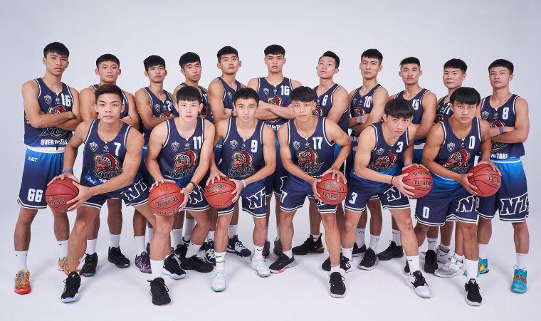 臺灣體大男籃。大會提供