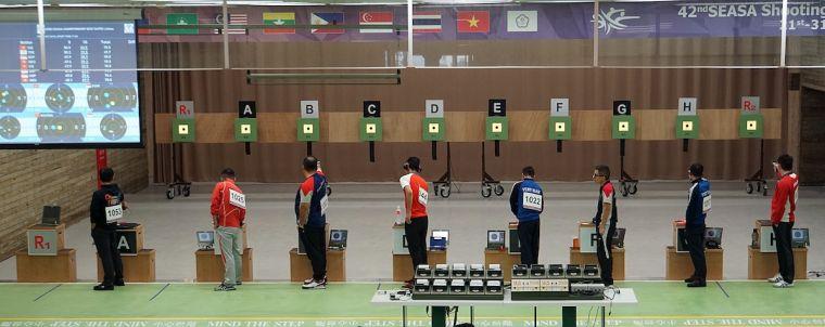 第42屆東南亞射擊錦標賽倒數三天,邀請民眾到場為中華隊加油。主辦單位提供