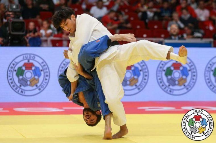楊勇緯在世錦賽表現神勇。摘自國際柔道總會官網