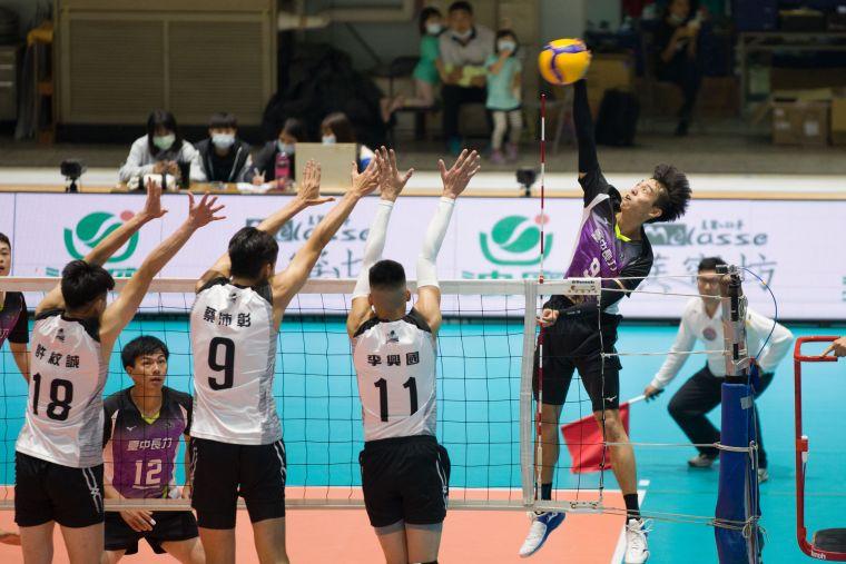 臺中長力-高偉誠。中華民國排球協會提供