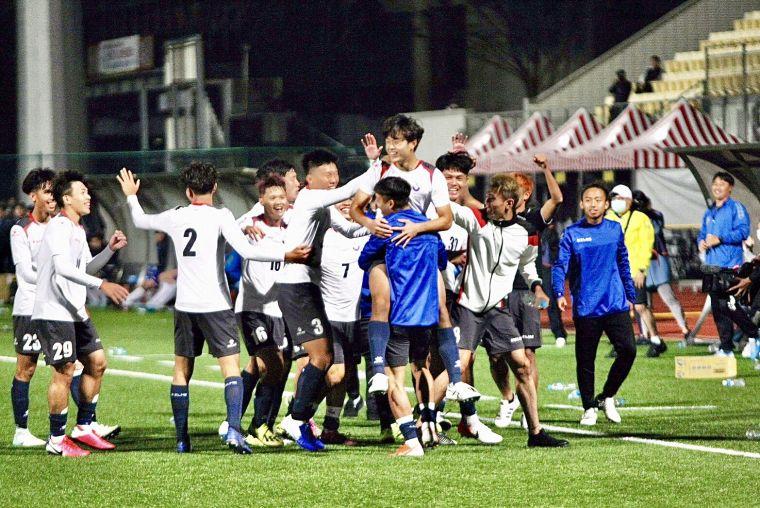 臺北市立大學足球隊。北市大提供