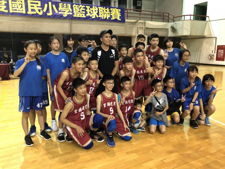 超級學長高國豪加持,光復男、女籃同日末役贏球雙搭晉級末班車。大會提供