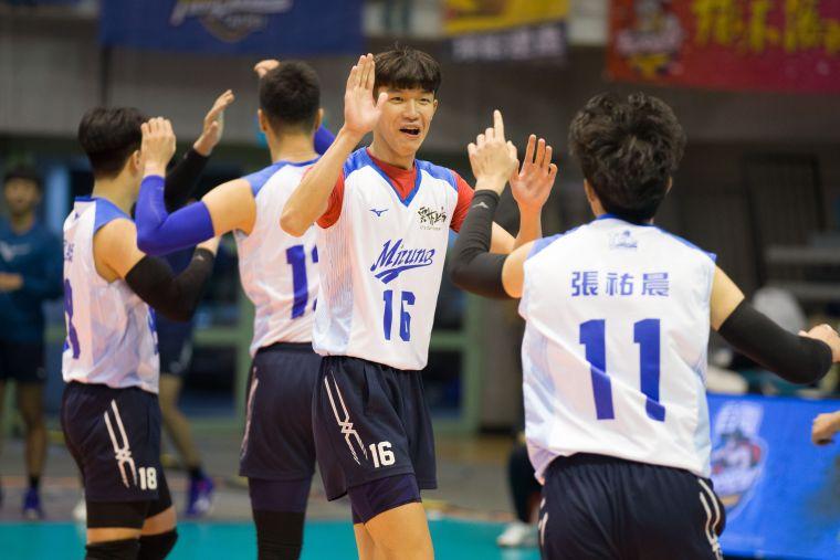 雲林MIZUNO 曾祥銘屢屢建功。中華民國排球協會提供