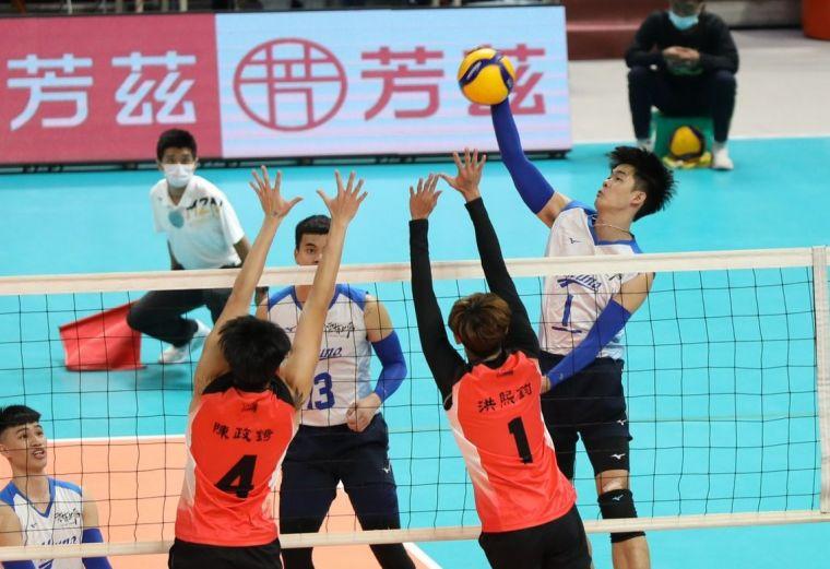雲林MIZUNO隊長黃正良。中華民國排球協會提供