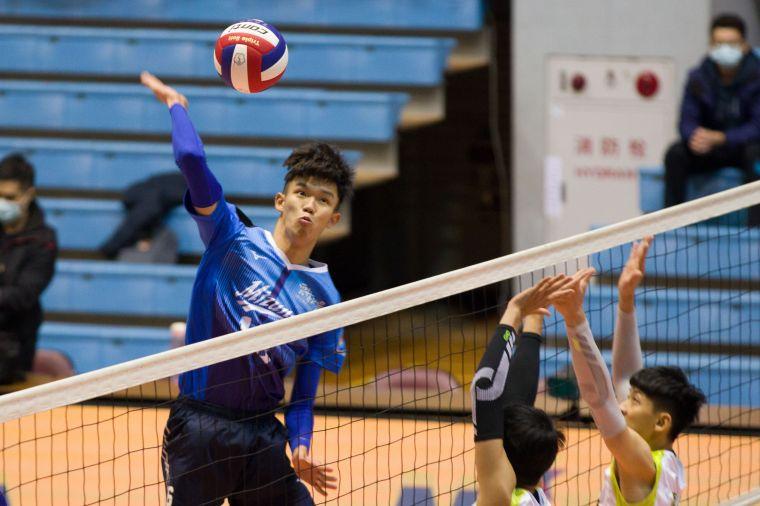 雲林MIZUNO-曾祥銘。中華民國排球協會提供