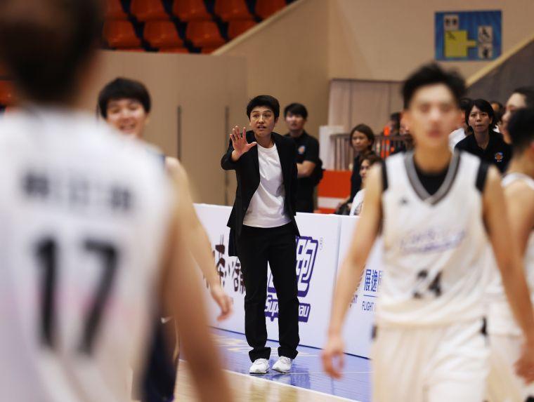 電信教練黃筱潔。大會提供