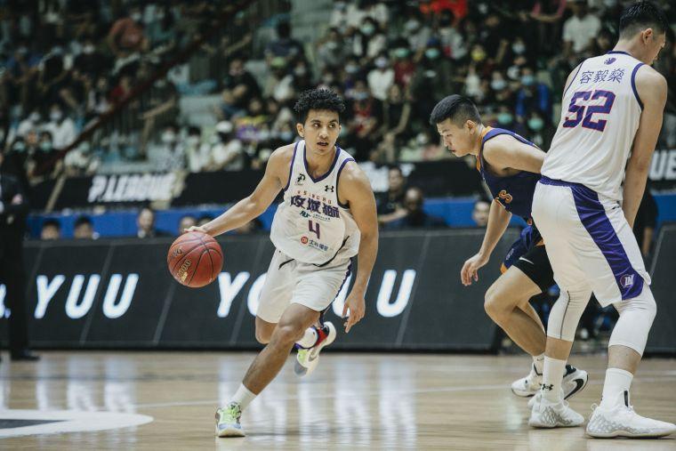 潛力新星高國豪單場攻下16分9籃板9助攻準大三元成績。大會提供