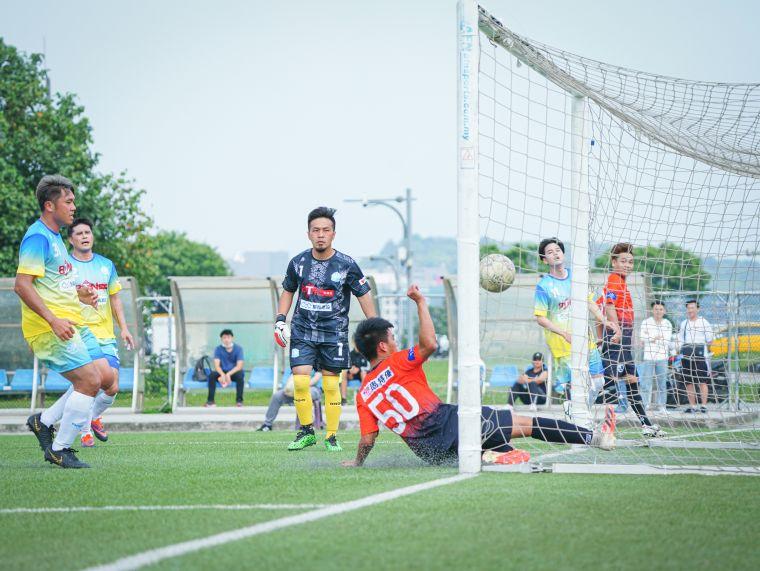 黃楷峻攻進一球並在邊路為球隊創造多次進攻機會。大會提供