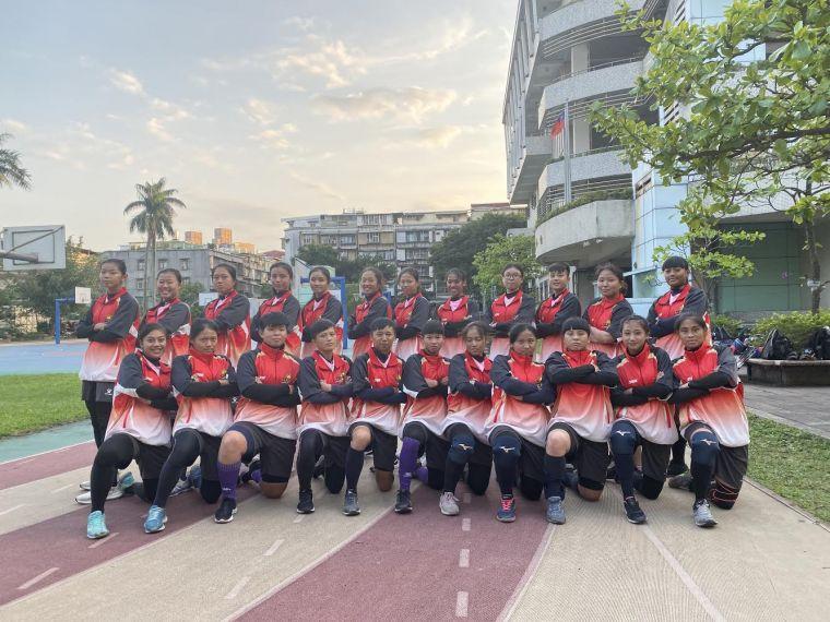 台北市華江高中。體育署提供