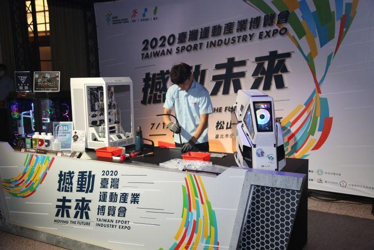 台灣運動產業受到疫情衝擊。資料照片