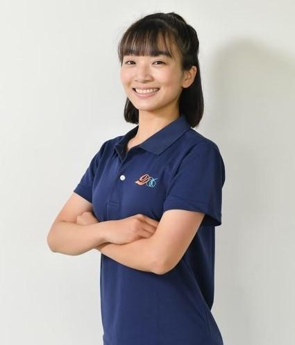 知名運動品牌合作教練陳婕婼教練。體育署提供