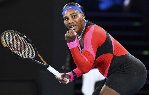 小威第九度闖進澳網女單4強。法新社