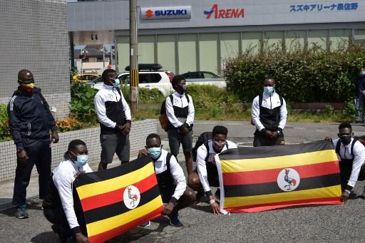烏干達代表團先有兩人確診,如今又有1人失蹤。法新社