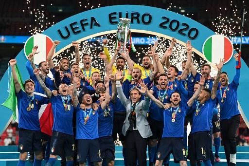 義大利暌違53年再度奪下歐國盃冠軍!法新社