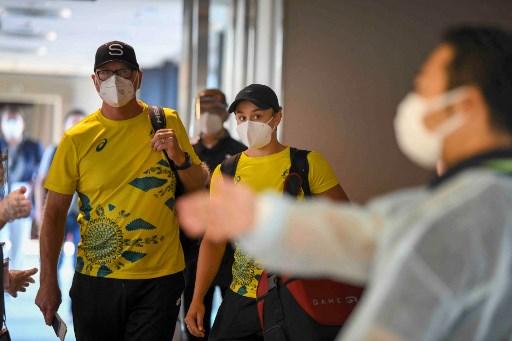 世界網球球后巴蒂抵達東京。法新社