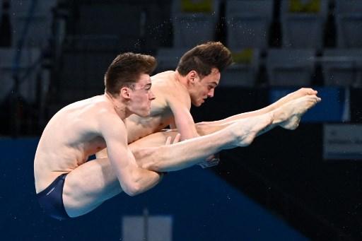 戴利四屆奧運終於一圓金牌夢。法新社