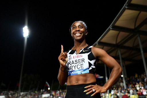 普萊斯有意挑戰女子100公尺世界紀錄。法新社