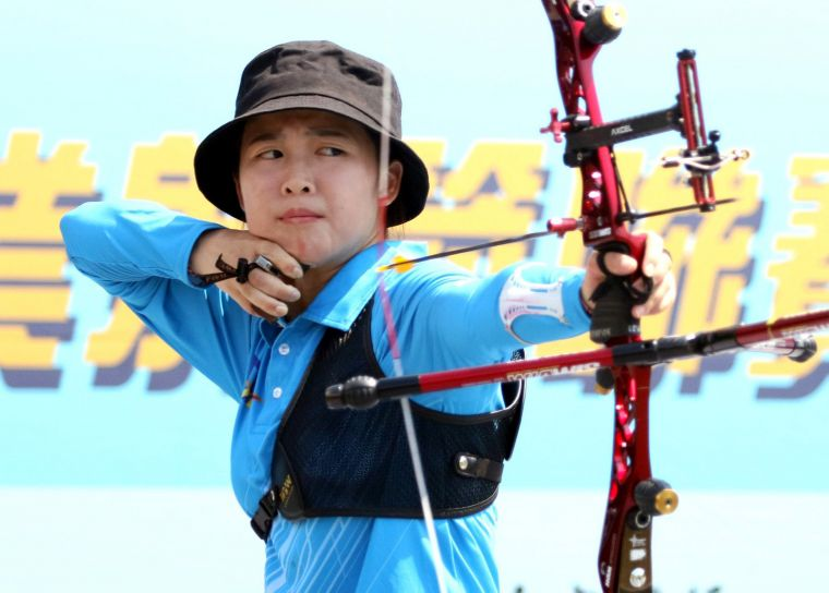 台南隊彭家楙將在箭林之后之爭尋求衛冕。中華企業射箭聯盟/提供。