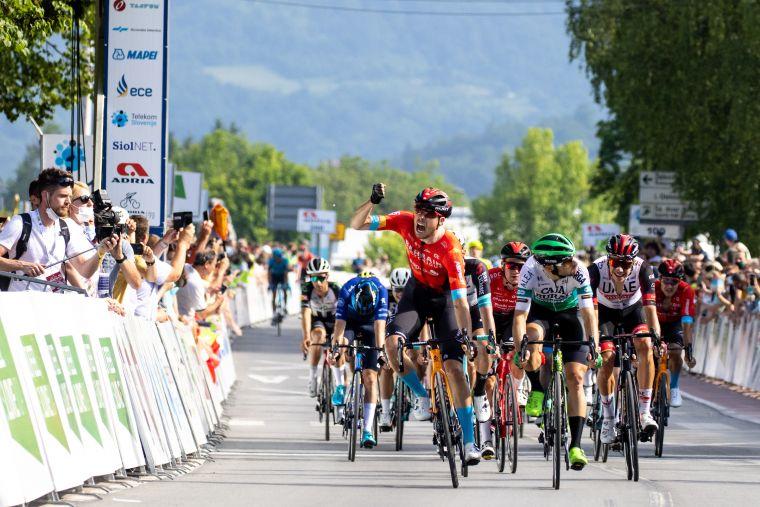 鮑豪斯不負眾望,帶領車隊拿下環斯洛維尼亞首站。Sportida.com提供