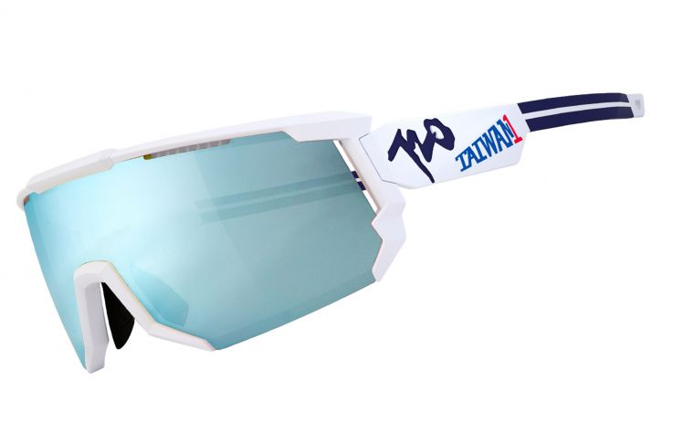 720HiColor運動眼鏡為中華隊加油。720armour運動眼鏡/提供。