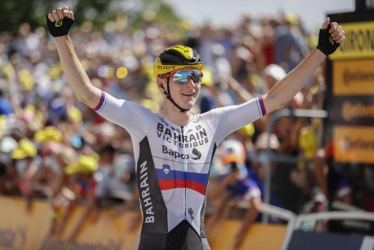 勇奪本屆環法第二座單站冠軍,莫霍里奇用表現振奮了團隊的士氣。Bettiniphoto提供