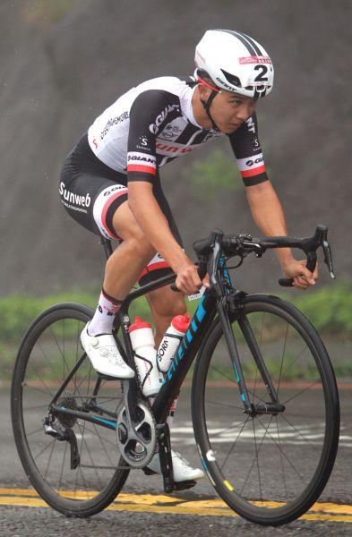 杜志濠獲2018陽明山自行車登山王挑戰國內第一。中華民國自行車騎士協會/提供。