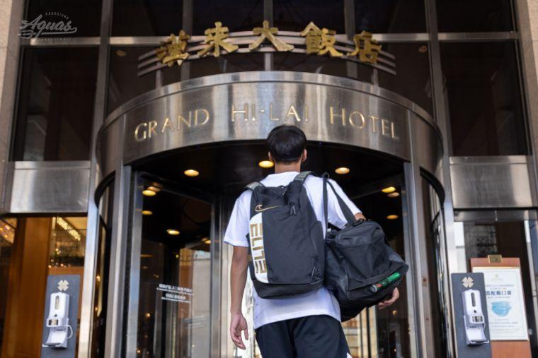 高雄海神與漢來大飯店合作打造高規宿舍。官方提供