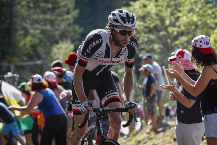TEAM SUNWEB勞倫斯天登將來台參加2018臺灣自行車登山王挑戰。PHOTO BY CORVOS。
